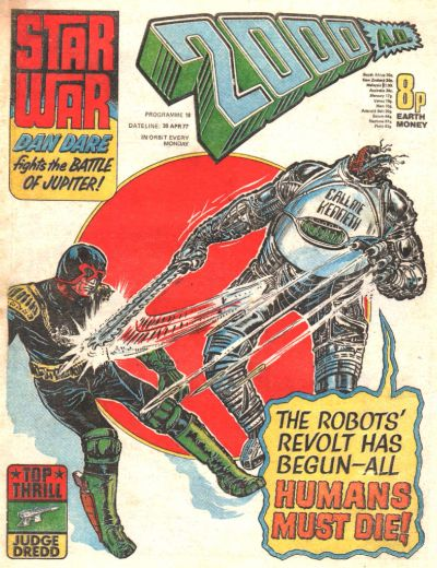 Cover for 2000 AD (IPC, 1977 series) #10