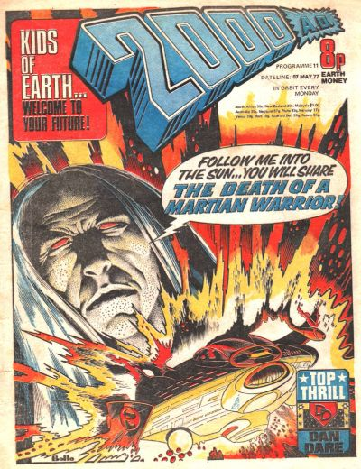 Cover for 2000 AD (IPC, 1977 series) #11