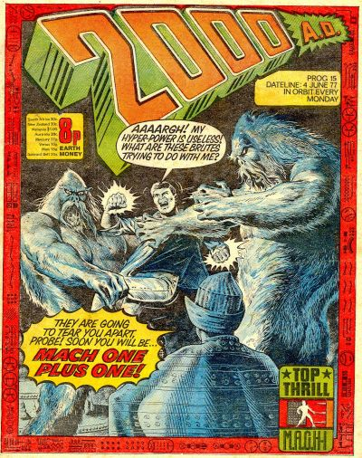 Cover for 2000 AD (IPC, 1977 series) #15