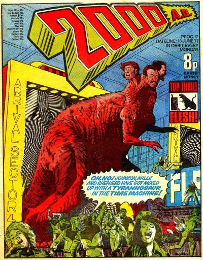 Cover for 2000 AD (IPC, 1977 series) #17