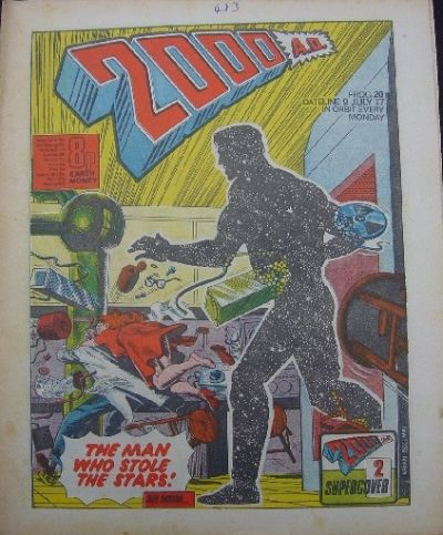 Cover for 2000 AD (IPC, 1977 series) #20