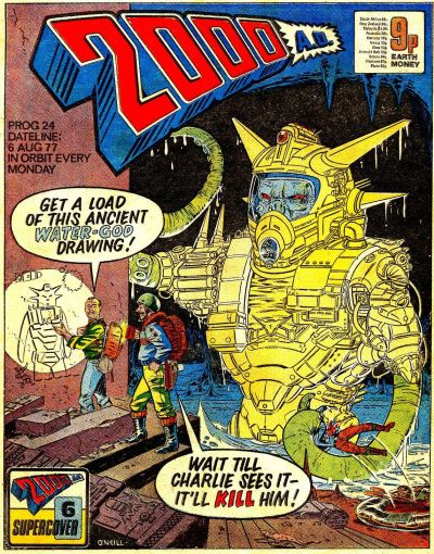 Cover for 2000 AD (IPC, 1977 series) #24