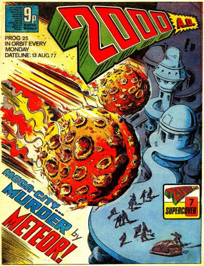 Cover for 2000 AD (IPC, 1977 series) #25