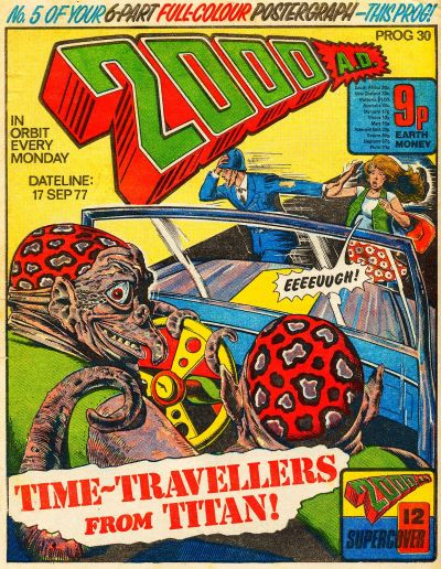 Cover for 2000 AD (IPC, 1977 series) #30