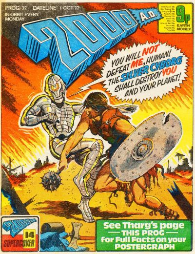 Cover for 2000 AD (IPC, 1977 series) #32