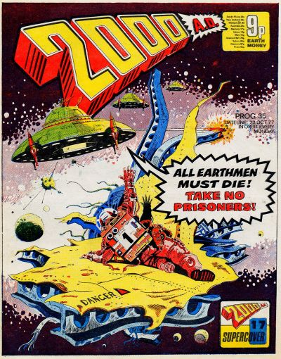 Cover for 2000 AD (IPC, 1977 series) #35