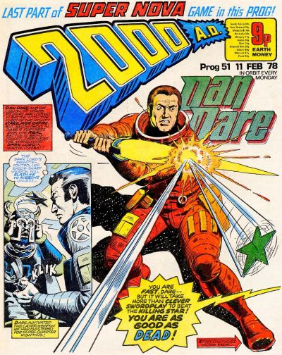 Cover for 2000 AD (IPC, 1977 series) #51