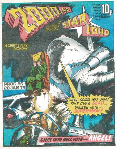 Cover for 2000 AD and Starlord (IPC, 1978 series) #96