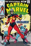 Cover for Captain Marvel (Marvel, 1968 series) #17 [British]