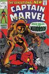 Cover for Captain Marvel (Marvel, 1968 series) #18 [British]