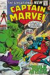 Cover for Captain Marvel (Marvel, 1968 series) #21 [British]