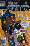Cover for Web of Spider-Man (Marvel, 1985 series) #12 [Canadian]