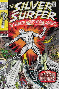 Cover Thumbnail for The Silver Surfer (Marvel, 1968 series) #18 [British]