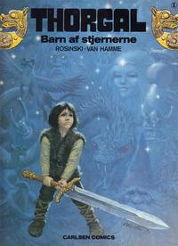 Cover Thumbnail for Thorgal (Carlsen, 1989 series) #1 - Barn af stjernerne