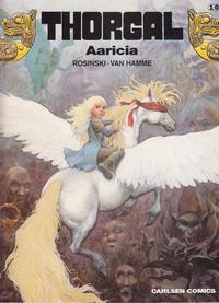 Cover Thumbnail for Thorgal (Carlsen, 1989 series) #10 - Aaricia