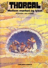 Cover Thumbnail for Thorgal (Carlsen, 1989 series) #9 - Mellem mørket og lyset