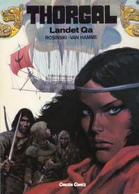 Cover Thumbnail for Thorgal (Carlsen, 1989 series) #6 - Landet Qa