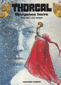Cover Thumbnail for Thorgal (Carlsen, 1989 series) #11 - Bjergenes herre