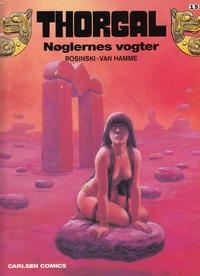 Cover Thumbnail for Thorgal (Carlsen, 1989 series) #15 - Nøglernes vogter