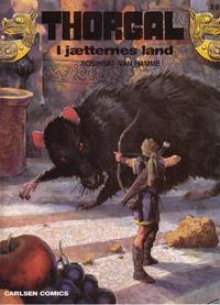Cover Thumbnail for Thorgal (Carlsen, 1989 series) #20 - I jætternes land