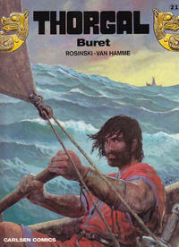 Cover Thumbnail for Thorgal (Carlsen, 1989 series) #21 - Buret