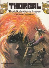 Cover Thumbnail for Thorgal (Carlsen, 1989 series) #22 - Troldkvindens hævn
