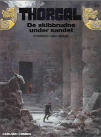 Cover Thumbnail for Thorgal (Carlsen, 1989 series) #26 - De skibbrudne under sandet