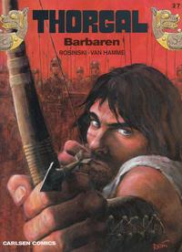 Cover Thumbnail for Thorgal (Carlsen, 1989 series) #27 - Barbaren