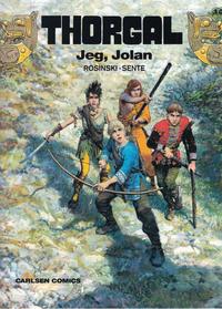 Cover Thumbnail for Thorgal (Carlsen, 1989 series) #30 - Jeg, Jolan