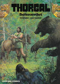 Cover Thumbnail for Thorgal (Carlsen, 1989 series) #16 - Solsværdet