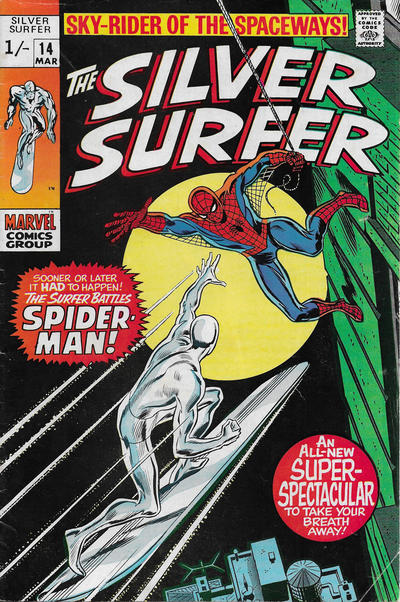 Cover for The Silver Surfer (Marvel, 1968 series) #14