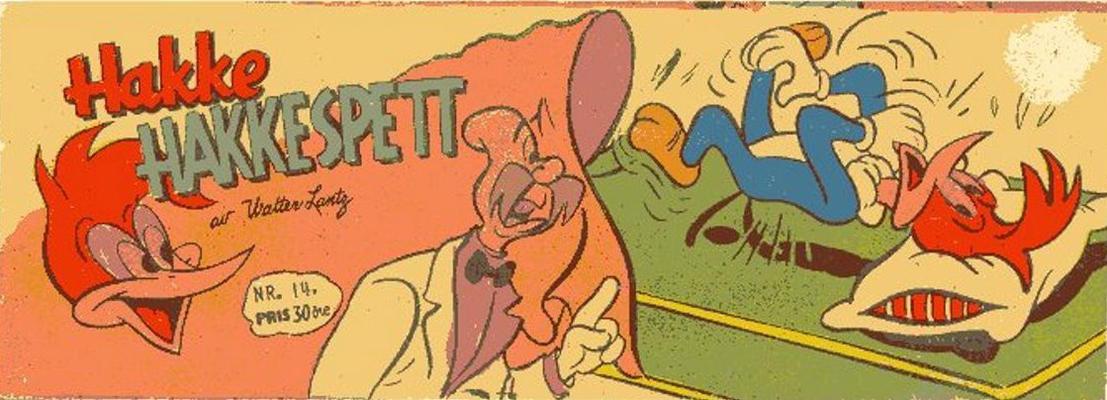 Cover for Hakke Hakkespett (Serieforlaget / Se-Bladene / Stabenfeldt, 1957 series) #14/1959