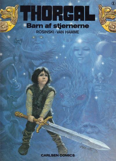 Cover for Thorgal (Carlsen, 1989 series) #1 - Barn af stjernerne
