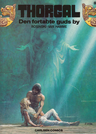 Cover for Thorgal (Carlsen, 1989 series) #8 - Den fortabte guds by