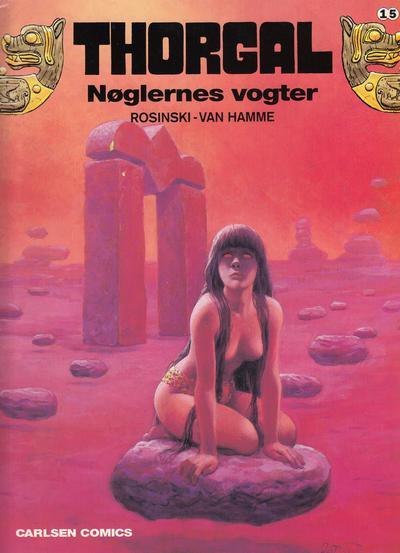 Cover for Thorgal (Carlsen, 1989 series) #15 - Nøglernes vogter