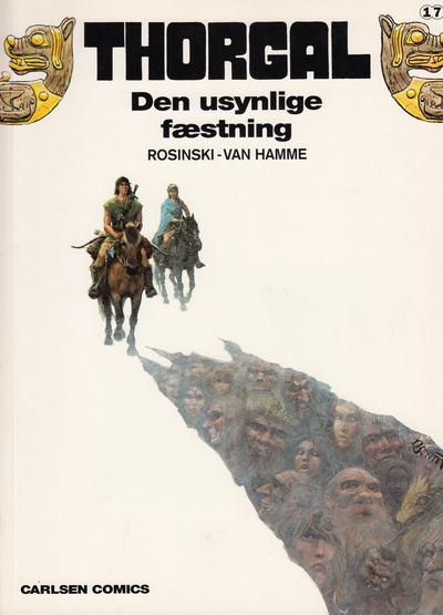 Cover for Thorgal (Carlsen, 1989 series) #17 - Den usynlige fæstning
