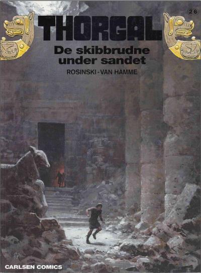 Cover for Thorgal (Carlsen, 1989 series) #26 - De skibbrudne under sandet