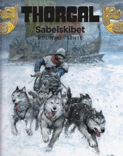 Cover for Thorgal (Cobolt, 2009 series) #33 - Sabelskibet