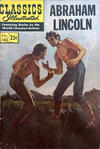 Cover for Classics Illustrated (Gilberton, 1947 series) #142 - Abraham Lincoln [HRN 169]