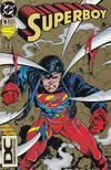 Cover for Superboy (DC, 1994 series) #5 [DC Universe Corner Box]