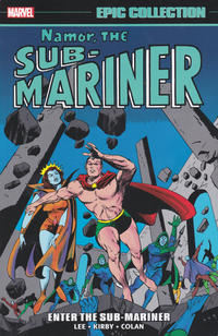 Cover Thumbnail for Namor, the Sub-Mariner Epic Collection (Marvel, 2021 series) #1 - Enter the Sub-Mariner