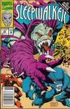 Cover for Sleepwalker (Marvel, 1991 series) #18 [Newsstand]