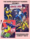 Cover for Gwandanaland Comics (Gwandanaland Comics, 2016 series) #2919 - The Super-Agents of Thunder: Volume 4