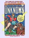 Cover for Gwandanaland Comics (Gwandanaland Comics, 2016 series) #2921 - The Complete Adventures into the Unknown: Volume 25