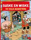 Cover for Suske en Wiske (Standaard Uitgeverij, 1967 series) #89 - De dolle musketiers [Herdruk 2021]