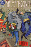Cover for The Batman and Robin Adventures (DC, 1995 series) #23 [Newsstand]