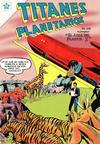 Cover for Titanes Planetarios (Editorial Novaro, 1953 series) #45