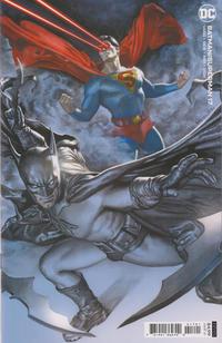 Cover Thumbnail for Batman / Superman (DC, 2019 series) #17 [Rodolfo Migliari Cardstock Variant Cover]