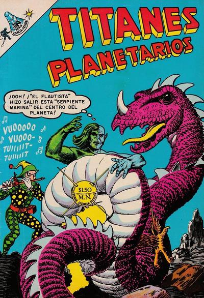 Cover for Titanes Planetarios (Editorial Novaro, 1953 series) #273