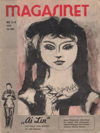 Cover for Magasinet (Oddvar Larsen; Odvar Lamer, 1946 ? series) #3-4/1950
